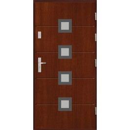 Vchodové dřevěné dveře AGMAR - MUZO