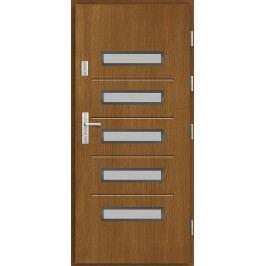Vchodové dřevěné dveře AGMAR - SALENTO