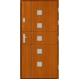 Vchodové dřevěné dveře AGMAR - BAZAN