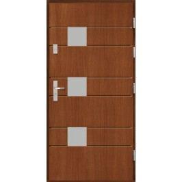 Vchodové dřevěné dveře AGMAR - SILVIA