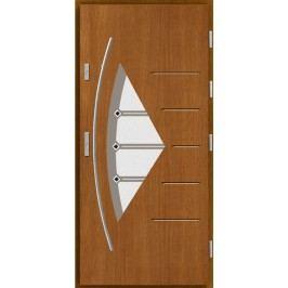 Vchodové dřevěné dveře AGMAR - PURIN