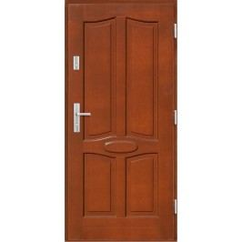 Vchodové dřevěné dveře AGMAR - LOTUS II