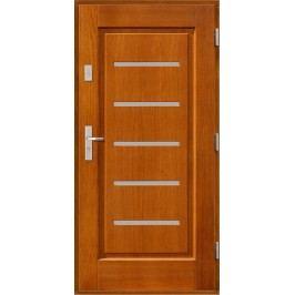 Vchodové dřevěné dveře AGMAR - KOBUS