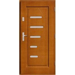 Vchodové dřevěné dveře AGMAR - HARPO
