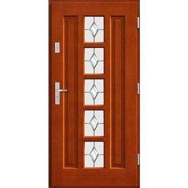 Vchodové dřevěné dveře AGMAR - GALIUM