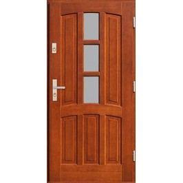Vchodové dřevěné dveře AGMAR - CEDRUS