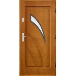 Vchodové dřevěné dveře AGMAR - REA