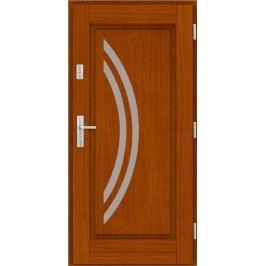 Vchodové dřevěné dveře AGMAR - LATINA
