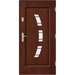 Vchodové dřevěné dveře AGMAR - KARBON