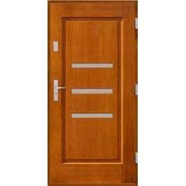 Vchodové dřevěné dveře AGMAR - TEVA