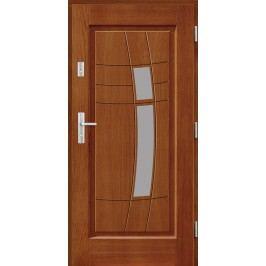 Vchodové dřevěné dveře AGMAR - DAKINI