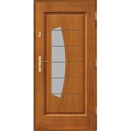 Vchodové dřevěné dveře AGMAR - OKAWA