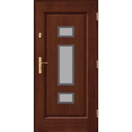 Vchodové dřevěné dveře AGMAR - OMOKA
