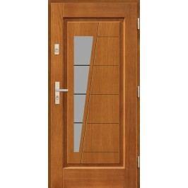 Vchodové dřevěné dveře AGMAR - JABOR