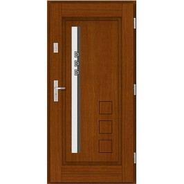 Vchodové dřevěné dveře AGMAR - MIRA