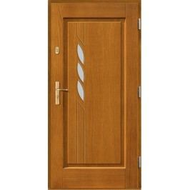 Vchodové dřevěné dveře AGMAR - TEJA