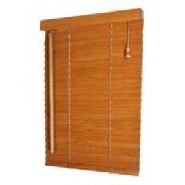 Dřevěná žaluzie do bytu