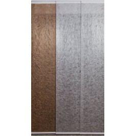 Japonská stěna se 3 kolejemi - šířka 901-1000mm x výška 901-1000mm